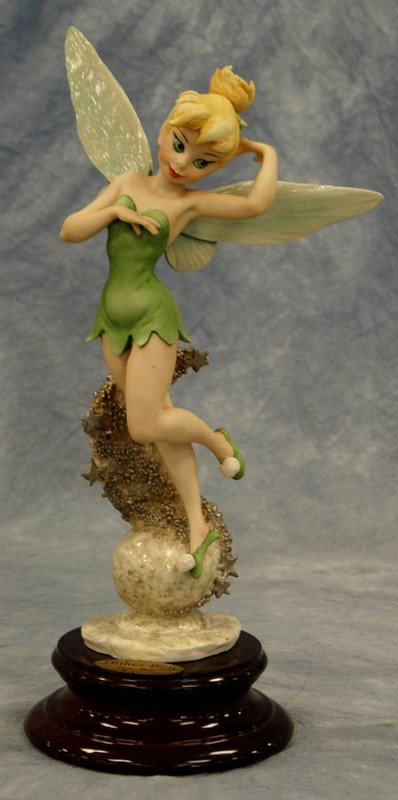 1: Tinker Bell, original Giuseppe Armani porcelain figu