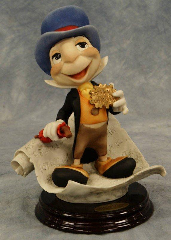 2: Jiminy Cricket, original Giuseppe Armani porcelain f