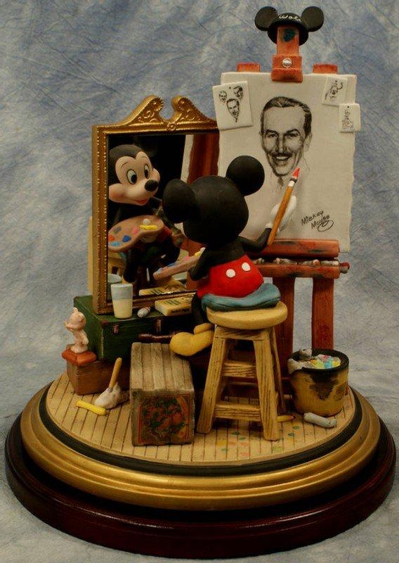 6: Walt Disney triple self portrait, limit. Ed. 0249/10