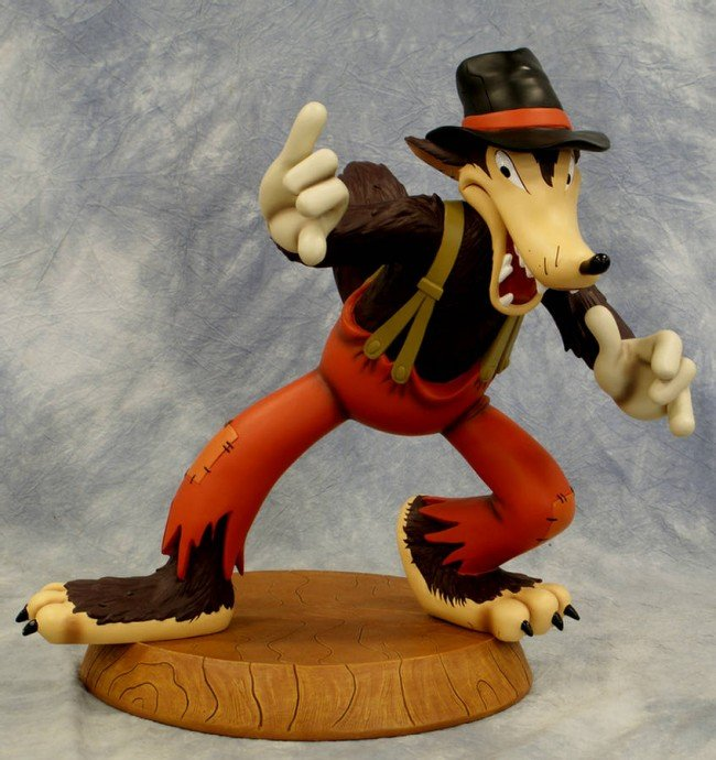 10: Big fig, Big Bad Wolf, with certificate of authenti