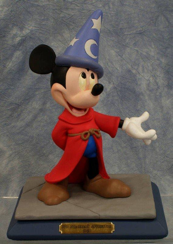14: Signed limited ed. figurine, Sorcerers Apprentice,