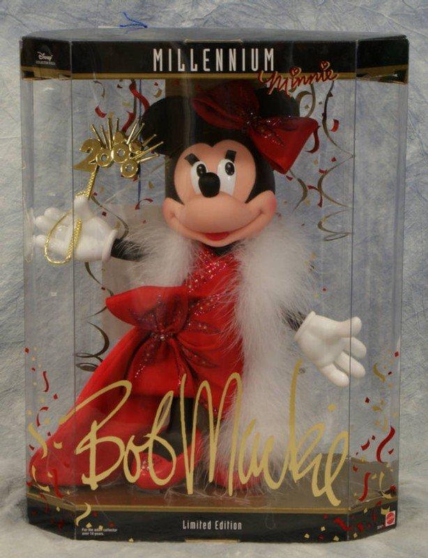 "21: Bob Mackie Millennium Minnie,  in original box, 11"""