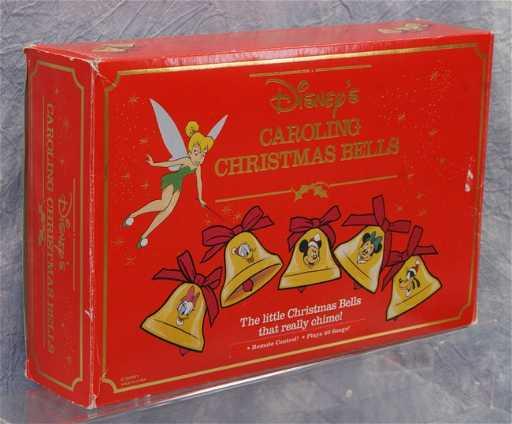371 disneys caroling christmas bells in original box