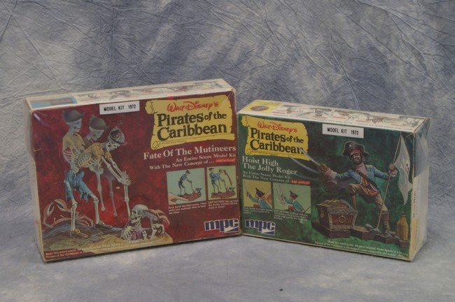 428: (2) Pirates of the Caribbean model kits by MPC 197