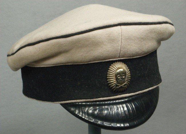 cd51ba734 117D: Imperial Russian Navy officer submarine visor hat
