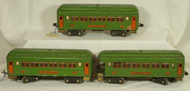 2: (3) Lionel Standard gauge passenger cars - 2 #309 &