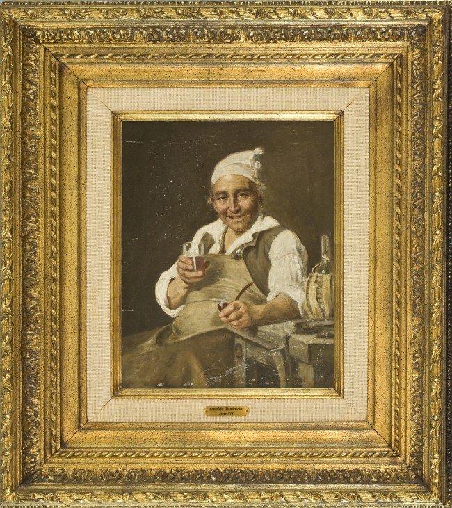 16:  Arnaldo Tamburini, Italian, 1843-1901,  Man sittin