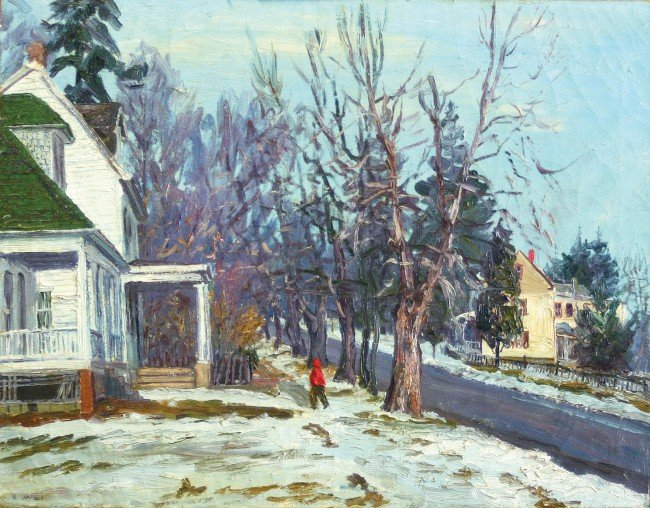 22: Hugh Campbell, 1905 - 1981, New Jersey,oil on canva
