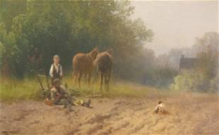 210: Hermann Herzog, 1831 - 1932, Philadelphia, Pennsyl