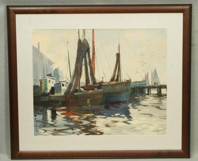 10: John Clifford Pellew, American, CT, 1903- 1993, w/c