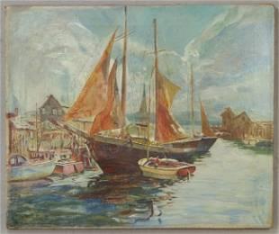 109: Jane Peterson, American, New York, 1876-1965, oil
