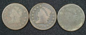 1810, 1812, + 1814 Large Cents AG/G