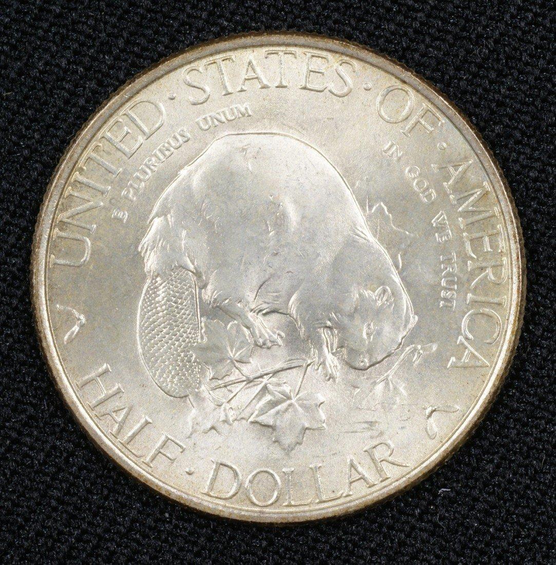 42: 1936 Albany commemorative half lovely frosty MS63+