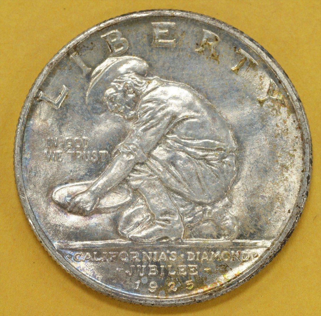 46: 1925S California diamond jubilee commemorative half