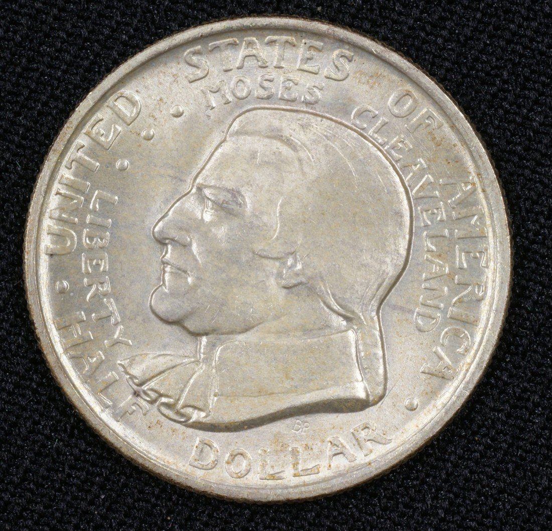 47: 1936 Cleveland - great Lakes commemorative half MS6