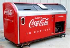 109: Victor Rolltop Coca Cola Floor Cooler, 1950s, Mode