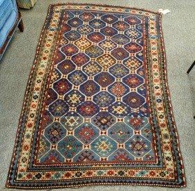 """20: 4' x 6'6"""" Caucasian rug"""