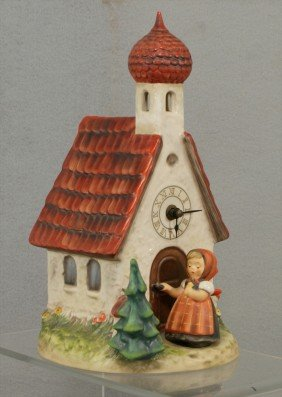 4: Hummel, Chapel Time Clock, TMK 6, #442, no damage, w