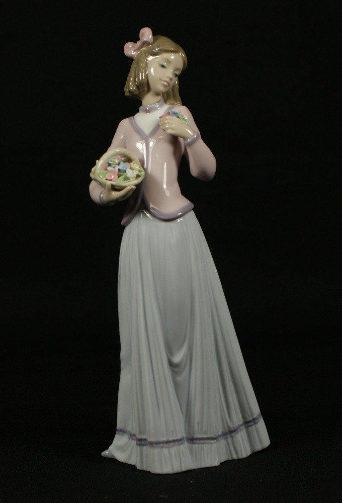 5: Lladro,  Innocence in Bloom, Lladro Collector's Soci