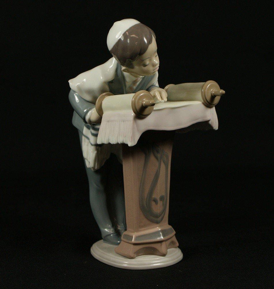 "11: Lladro, Bar Mitzvah Day, #6004, 7 3/4"" tall"