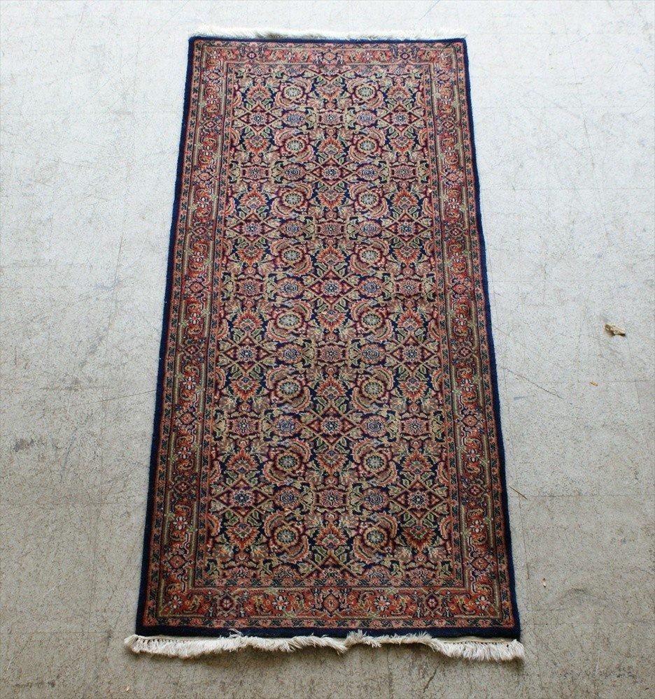 "11005: Indo Kashan Rug, 2'7"" x 6'"