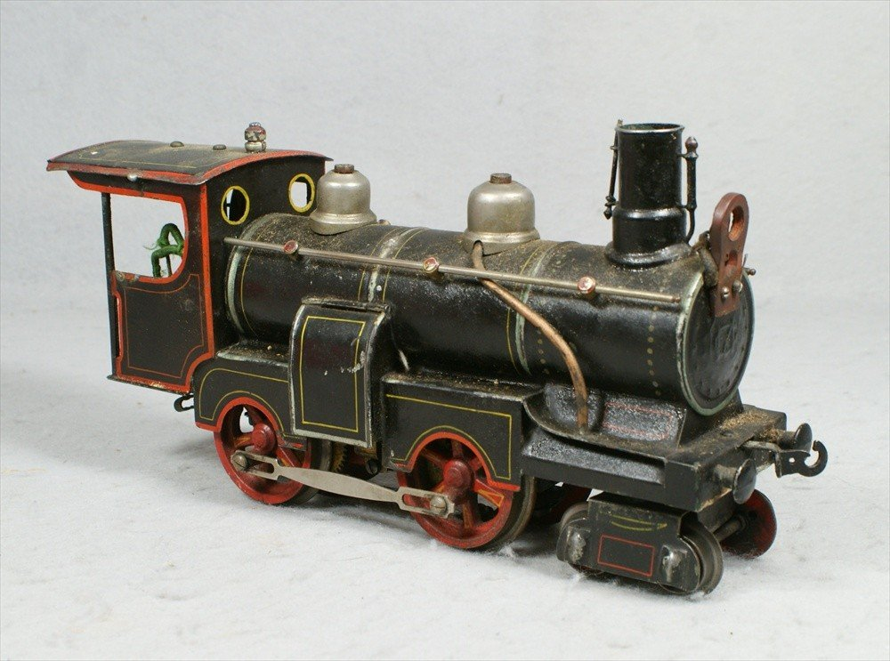 11238: Marklin tin electric steam locomotive, missing h