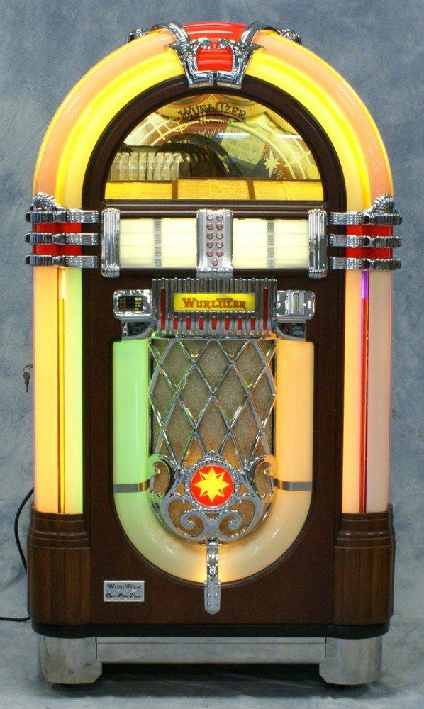 """11238A: Replica Wurlitzer 1015 """"Bubble Front"""" juke box, - 2"""