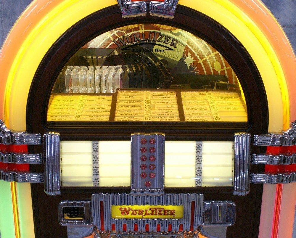 """11238A: Replica Wurlitzer 1015 """"Bubble Front"""" juke box, - 3"""