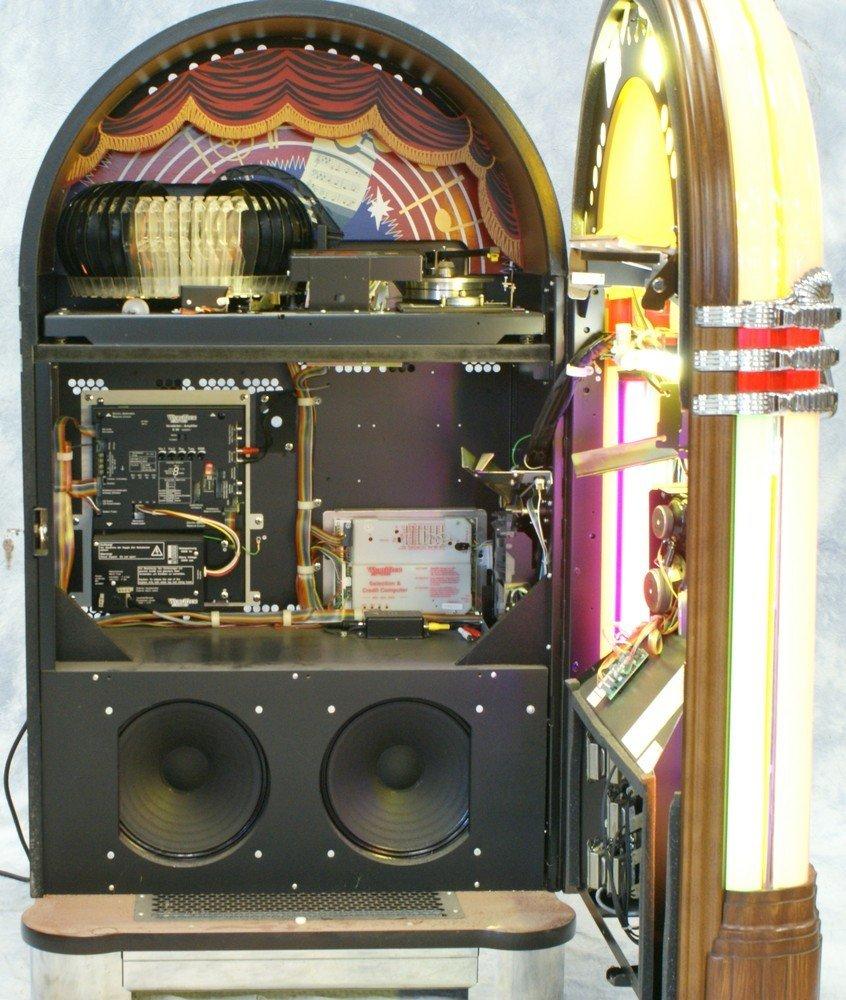 """11238A: Replica Wurlitzer 1015 """"Bubble Front"""" juke box, - 4"""