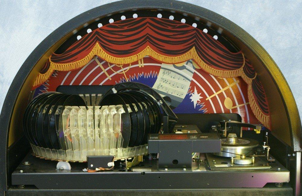"""11238A: Replica Wurlitzer 1015 """"Bubble Front"""" juke box, - 6"""
