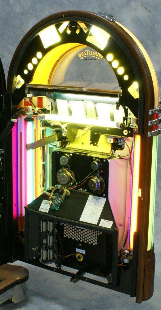 """11238A: Replica Wurlitzer 1015 """"Bubble Front"""" juke box, - 7"""
