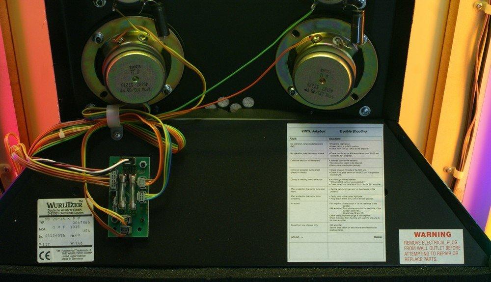 """11238A: Replica Wurlitzer 1015 """"Bubble Front"""" juke box, - 8"""