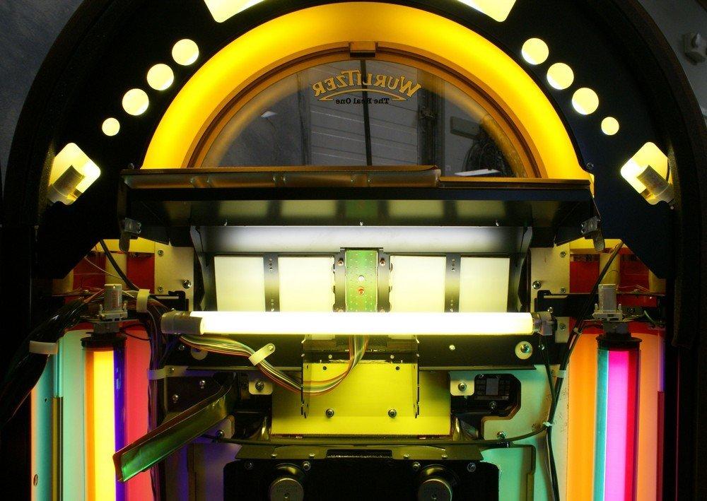 """11238A: Replica Wurlitzer 1015 """"Bubble Front"""" juke box, - 9"""