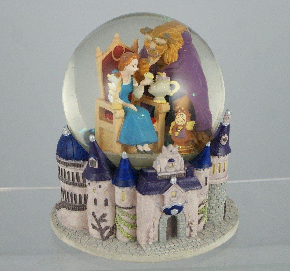 "1027: Beauty and the beast musical snow globe, ""Beauty"