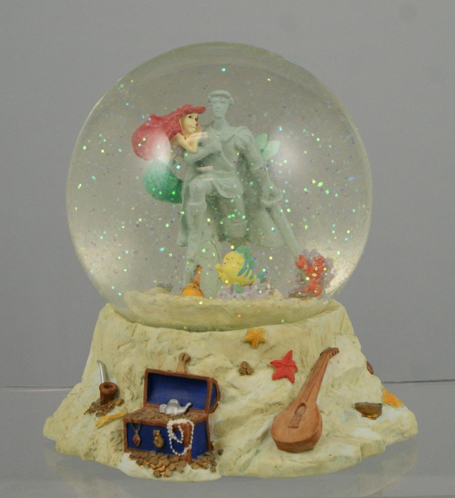 """1030: The Little Mermaid musical snow globe, """"Part of Y"""