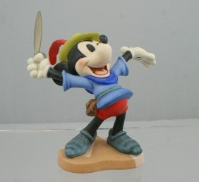 """Brave Little Tailor, Mickey Mouse """"I Let Em Have"""