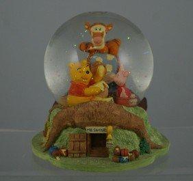 "Winnie The Pooh Musical Snow Globe, "" Winnie The"