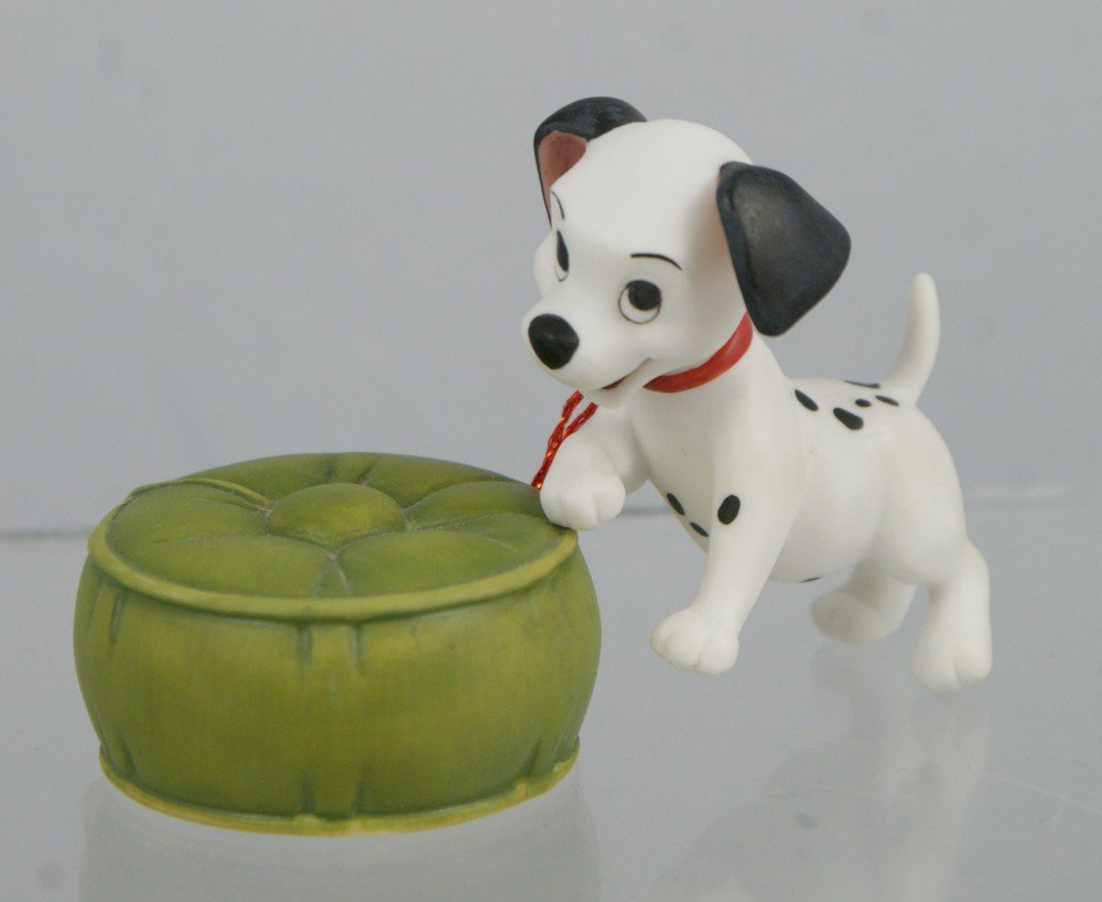 1100: 101 Dalmations puppy with ottoman (2 pieces), Wal