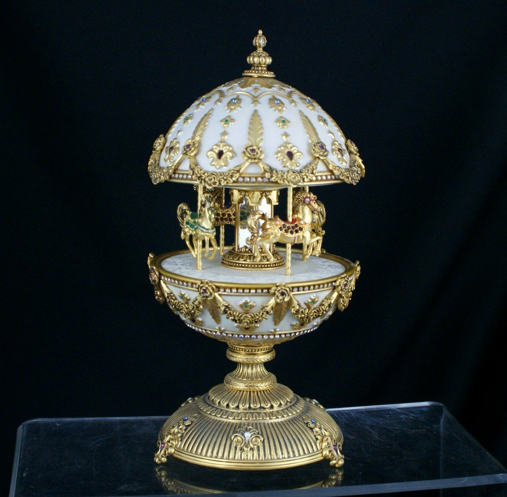 1154: The Franklin Mint, The Faberge Imperial Carousel