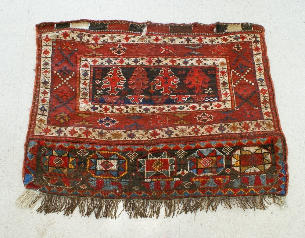 "2012: 2' 4"" x 3' 1"" Bakhtiari Bag Face rug"