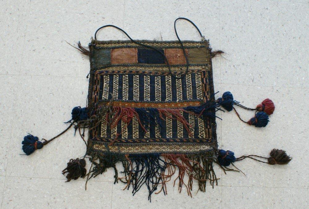 "2014: 14"" x 14"" Turkish bag"