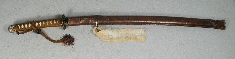 2240: WWII Japanese Army Signed Shin Gunto Sword