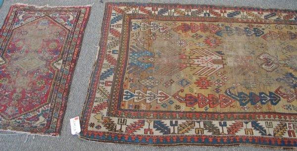 210: 3 throw rugs