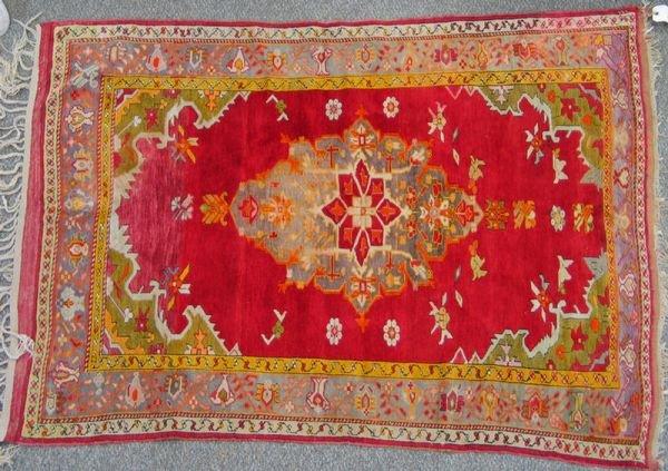 222: 4.3 x 5.7 Turkish rug