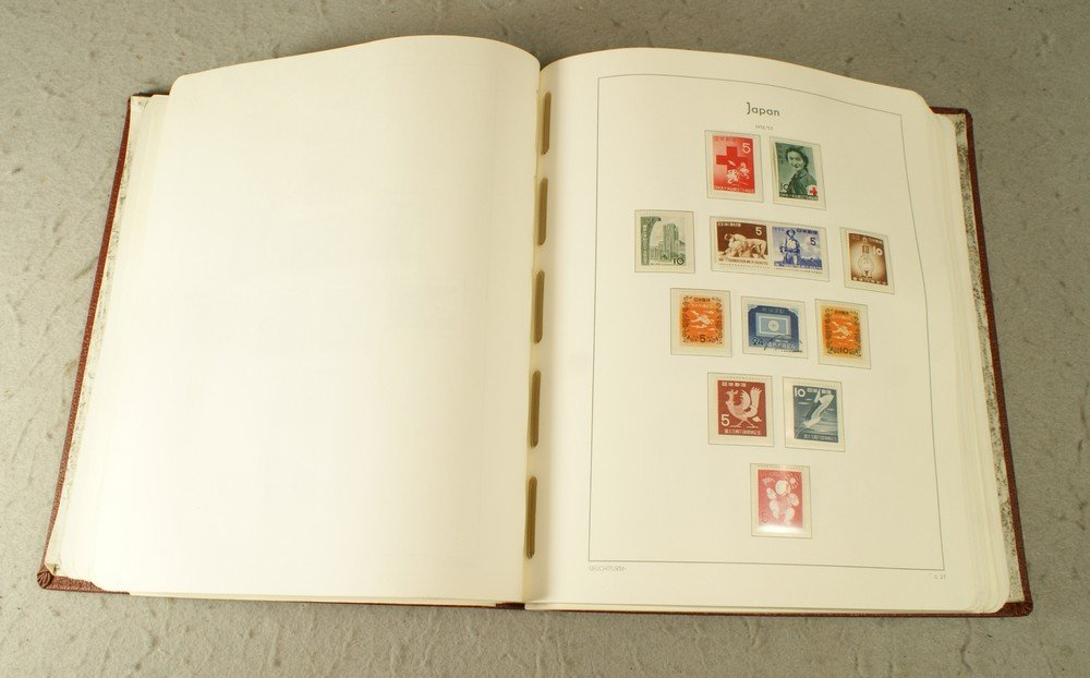 5002: A lovely used and unused Japan stamp collection i