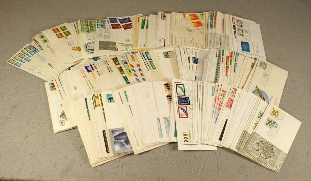 5021: About 370 United Nations first day covers mostly