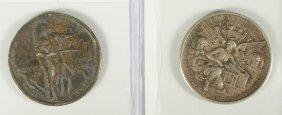 2 Commemorative Halves: 1934 Texas (VF) And A 192