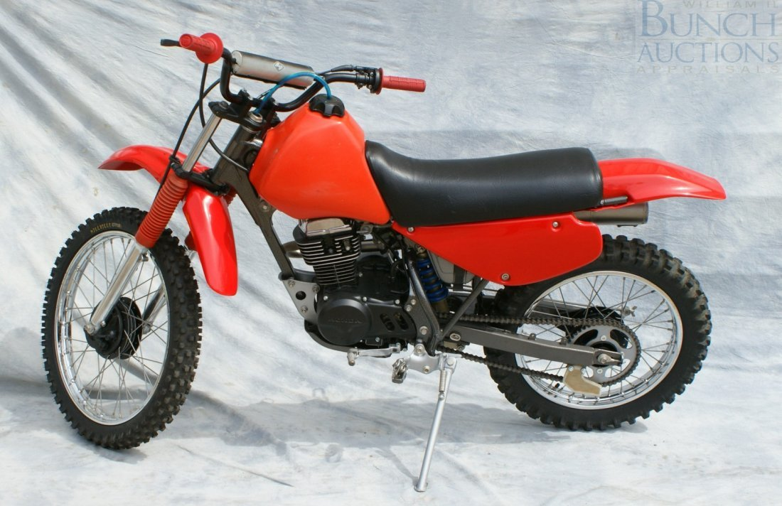 1: Honda XR100, rebuilt engine and cosmetics, runs exce - 2