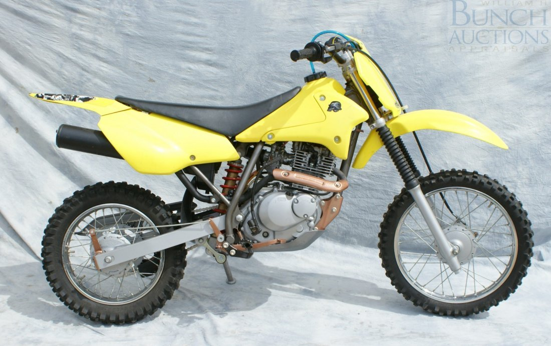 4: 2003 Suzuki Z125, rebuilt engine, runs well, excelle