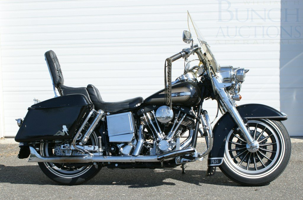 13: 1976 Harley Davidson FLH, clean, rideable, titled,